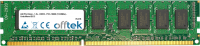 240 Pin Dimm - 1.5v - DDR3 - PC3-10600 (1333Mhz) - Senza Buffer ECC  4GB Modulo