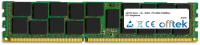 240 Pin Dimm - 1.5v - DDR3 - PC3-8500 (1066Mhz) - ECC Registrato 16GB Modulo