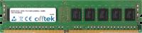 288 Pin Dimm - DDR4 - PC4-19200 (2400Mhz) - UDIMM - ECC Senza Buffer 16GB Modulo