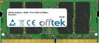 260 Pin SoDimm - DDR4 - PC4-17000 (2133Mhz) - Non-ECC 16GB Modulo