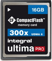 Integral Ultima-Pro Compact Flash 16GB Scheda (300x)