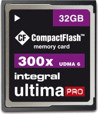 Integral Ultima-Pro Compact Flash 32GB Scheda