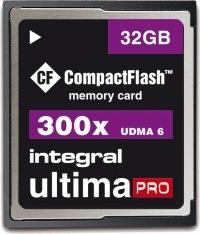 Integral Ultima-Pro Compact Flash 32GB Scheda