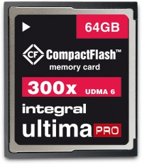 Integral Ultima-Pro Compact Flash 300X 64GB Scheda