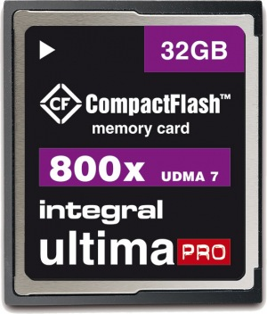 Integral Ultima-Pro Compact Flash 800X 32GB Scheda