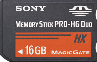 Sony Memory Stick PRO-HG Duo HX 16GB Stick