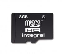 Integral Micro SDHC (Senza Adattatore) 8GB Scheda (Class 4)
