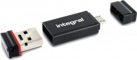 Integral USB OTG Adattatore Con Fusion 2.0 Drive 8GB