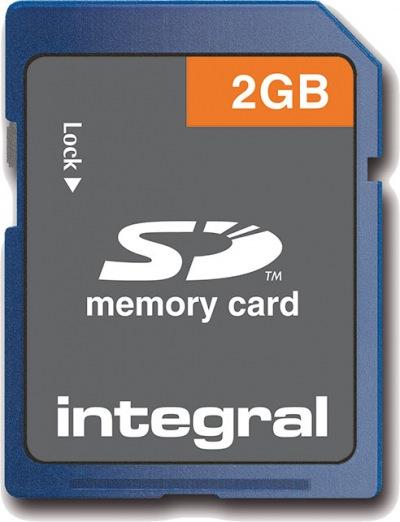 Integral Sicuro Digital/SD Scheda 2GB Scheda