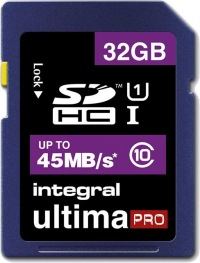 Integral SDHC 32GB Scheda (Class 10 - 45MB/s)