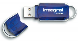 Integral Courier Chiave USB 16GB (34x Speed)
