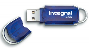 Integral Courier Chiave USB 4GB (34x Speed)