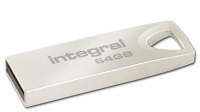 Integral Metal ARC USB 2.0 Flash Drive 64GB