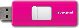 Integral Slide USB Drive 8GB