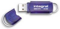 Integral Courier Drive Criptato USB - (FIPS 197) 8GB Drive