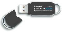 Integral Courier Dual FIPS 197 Criptato USB 3.0 Drive 8GB