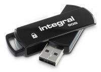 Integral Sicuro 360 Pen Drive 8GB Drive