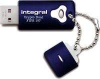 Integral Crypro Dual Drive Criptato USB - (FIPS 197) 8GB Drive