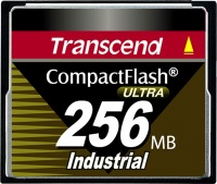Transcend Industrial Ultra Compact Flash 256MB Scheda (100x)