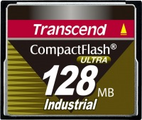 Transcend Industrial Ultra Compact Flash 128MB Scheda (100x)