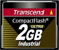 Transcend Industrial Ultra Compact Flash 2GB Scheda (100x)