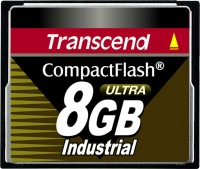 Transcend Industrial Ultra Compact Flash 8GB Scheda (100x)