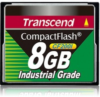 Transcend Industrial Ultra Compact Flash 8GB Scheda (200x)
