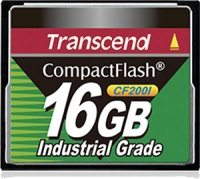Transcend Industrial Ultra Compact Flash 16GB Scheda (200x)