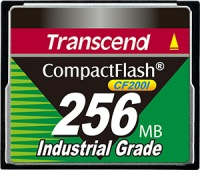 Transcend Industrial Ultra Compact Flash 256MB Scheda (200x)