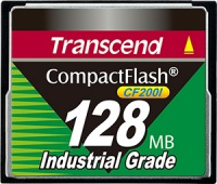Transcend Industrial Ultra Compact Flash 128MB Scheda (200x)
