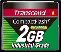 Transcend Industrial Ultra Compact Flash 2GB Scheda (200x)