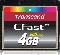 Transcend CFast  4GB Scheda