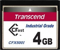 Transcend Industrial Temp CFast 4GB Scheda