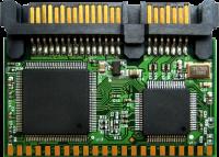 Transcend SATA Moduli Flash - Verticale 1GB