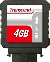 Transcend IDE Industrial USB Verticale 4GB Modulo