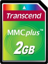 Transcend MultiMedia Scheda Più 2GB Scheda