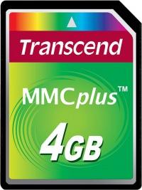 Transcend MultiMedia Scheda Più 4GB Scheda